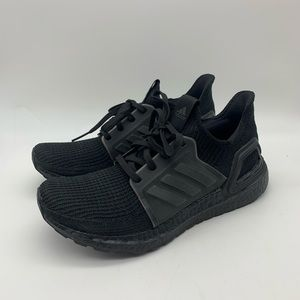 Adidas UltraBOOST 19 Black/Black Women's 8 GREAT